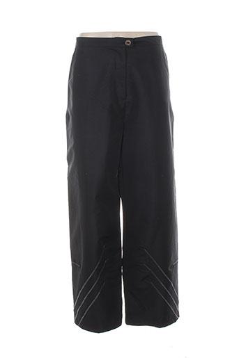 lauren et vidal pantalons et decontractes femme de couleur noir
