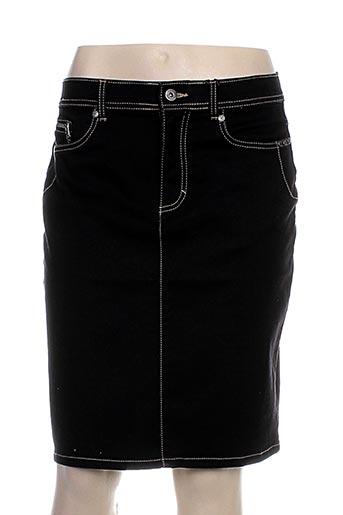 jensen jupes femme de couleur noir