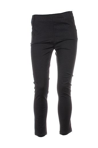 frnch pantalons femme de couleur noir