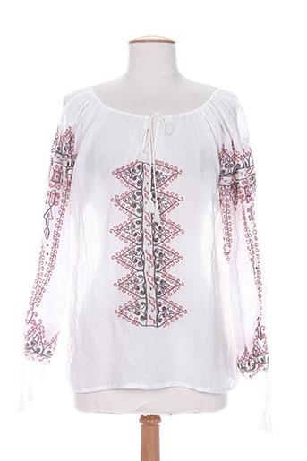 charlie joe chemises femme de couleur blanc