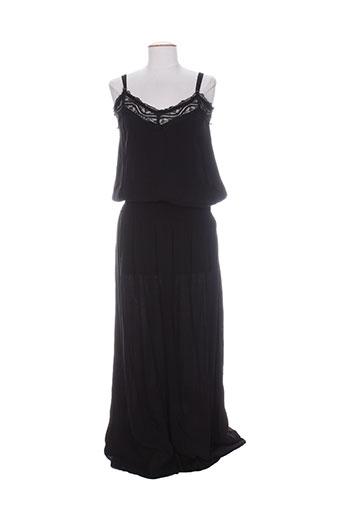 charlie joe robes femme de couleur noir