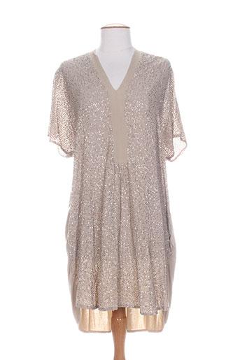 charlie joe robes femme de couleur beige