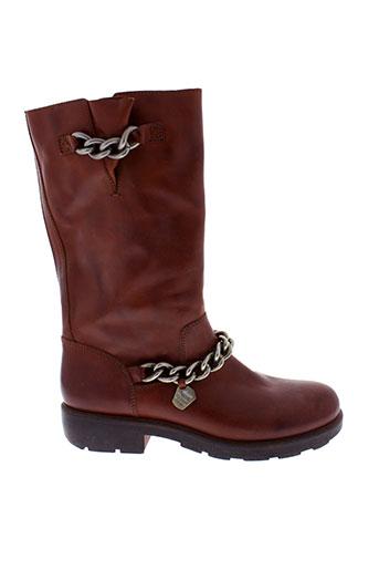 manila et grace boots femme de couleur marron
