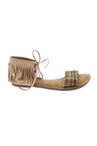 favela et market sandales et nu et pieds femme de couleur marron
