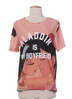 Produit-T-shirts / Tops-Femme-ELEVEN PARIS