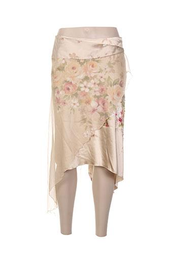 renato nucci jupes femme de couleur beige