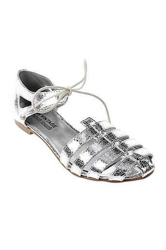 ippon et vintage sandales et nu et pieds femme de couleur gris