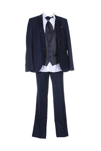 adimo costumes homme de couleur bleu