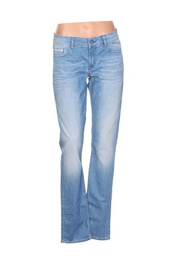 gaastra jeans et coupe et droite femme de couleur bleu