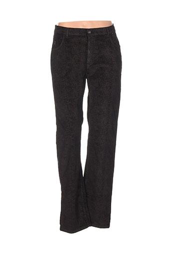 impact pantalons femme de couleur noir
