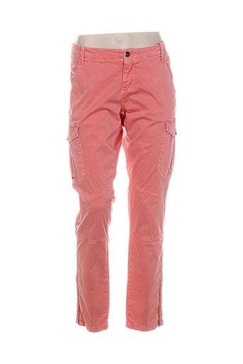 gant pantalons femme de couleur rose