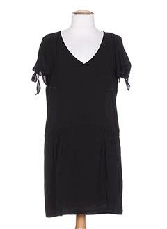 Robe mi-longue noir BY MONSHOWROOM pour femme