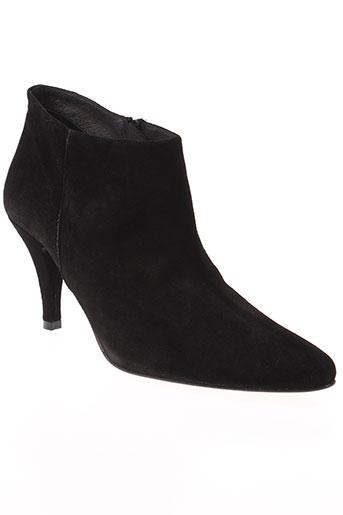 clo&se chaussures femme de couleur noir