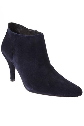 clo&se chaussures femme de couleur bleu