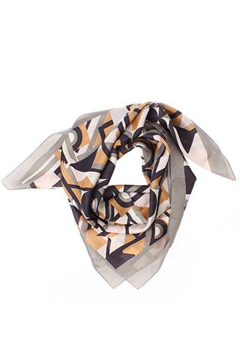 codello foulards femme de couleur gris