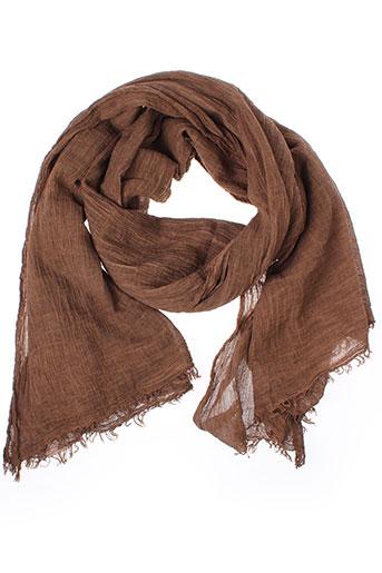 american et vintage foulards femme de couleur marron