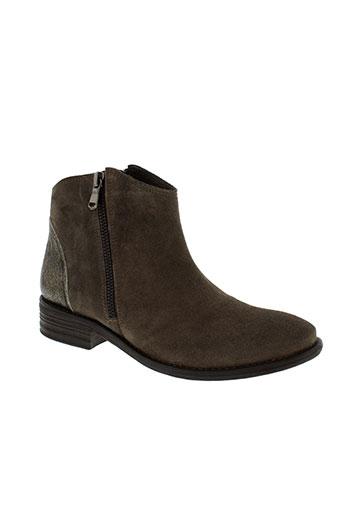 meline boots femme de couleur marron