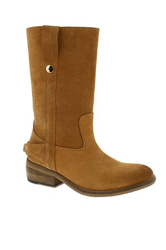 gat et rimon bottes femme de couleur marron