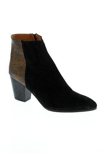 emma et go boots femme de couleur noir
