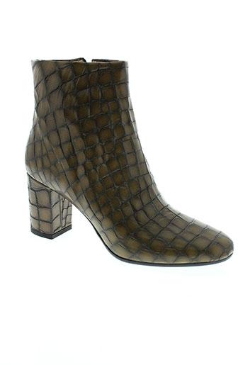 eden boots femme de couleur marron