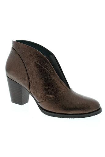 esska boots femme de couleur marron