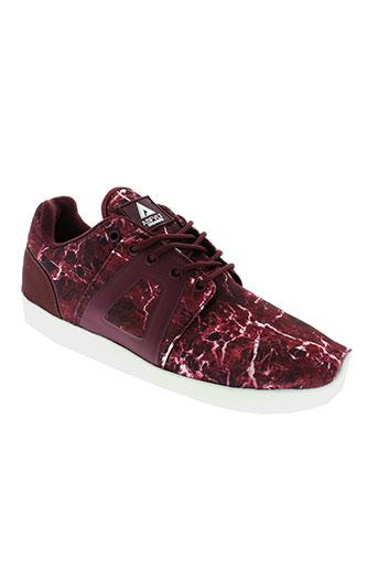 asfvlt chaussures femme de couleur rouge