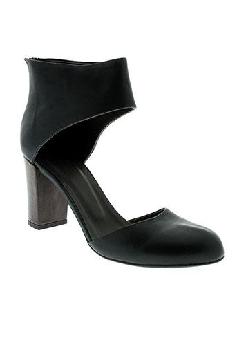 coclico chaussures femme de couleur noir