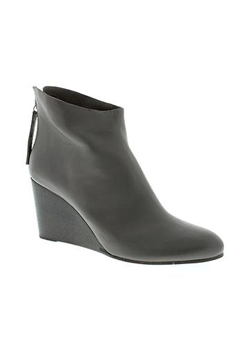 coclico boots femme de couleur gris