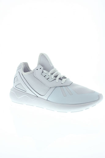 adidas baskets homme de couleur blanc