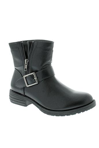 pieces boots femme de couleur noir