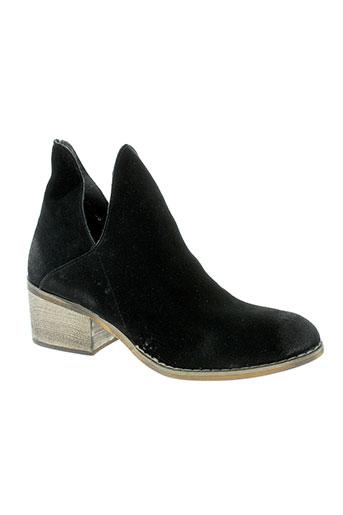 compania et fantastica boots femme de couleur noir