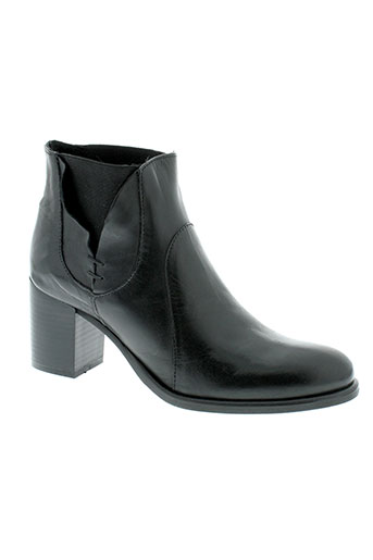 jonak boots femme de couleur noir