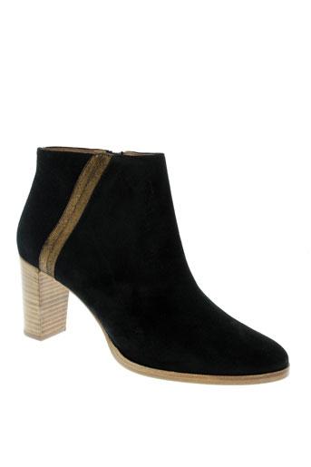 sessun boots femme de couleur noir