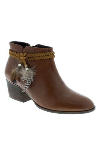 schmoove boots femme de couleur marron