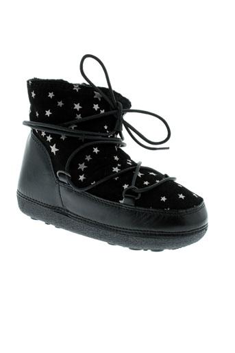 anniel chaussures fille de couleur noir