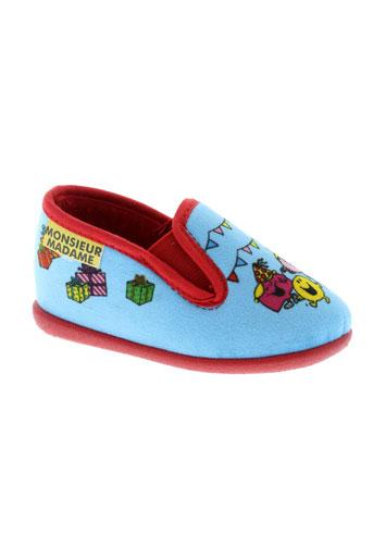 sanrio chaussons enfant de couleur bleu