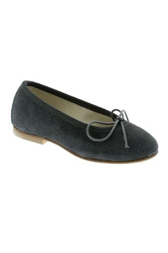 anniel chaussures fille de couleur gris