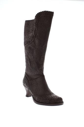 neosens bottes femme de couleur marron
