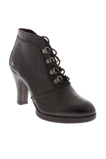 neosens boots femme de couleur noir