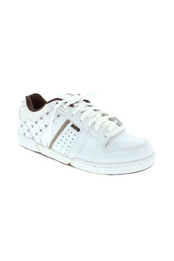 dvs chaussures femme de couleur blanc