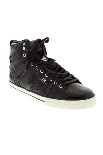 globe chaussures homme de couleur noir