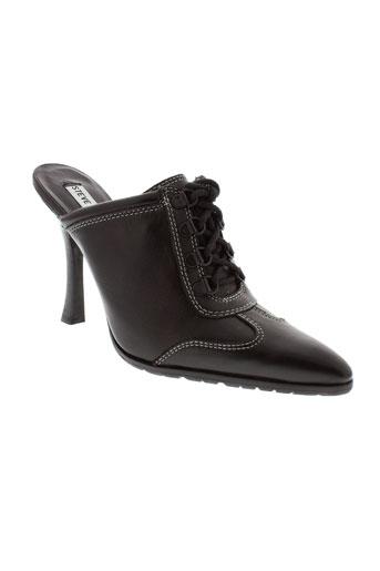 steve madden chaussures unisexe de couleur noir
