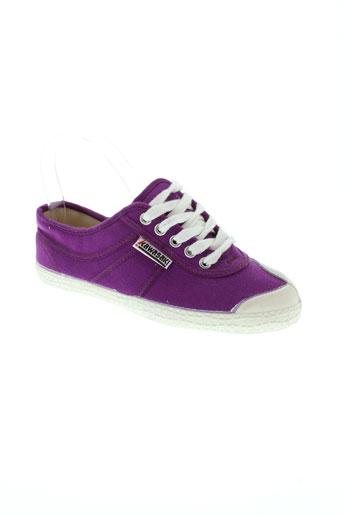 kawasaki chaussures garçon de couleur violet
