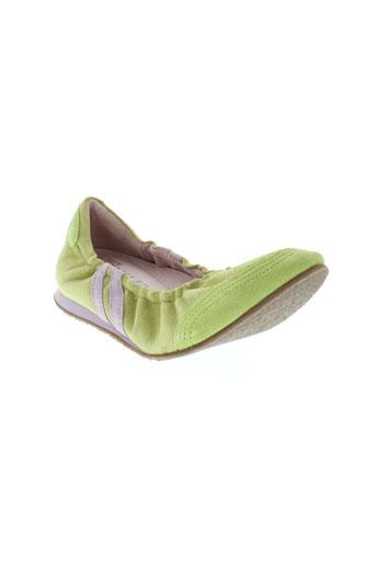 palladium ballerines femme de couleur vert
