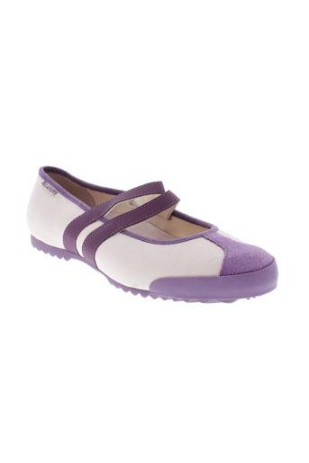 palladium ballerines femme de couleur violet