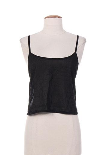 lavand chemises femme de couleur noir