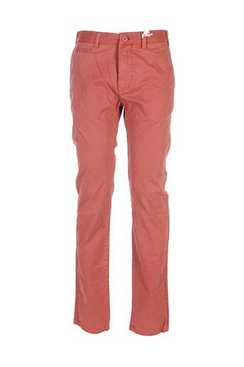Pantalon casual orange MEN OF ALL NATION pour homme