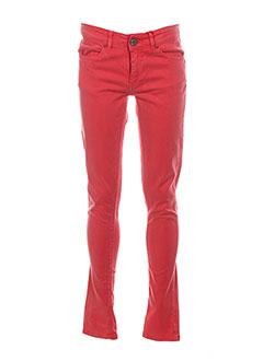 Pantalon 7/8 rose I.CODE (By IKKS) pour femme