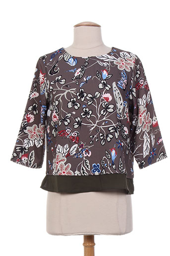 mismash t-shirts femme de couleur gris