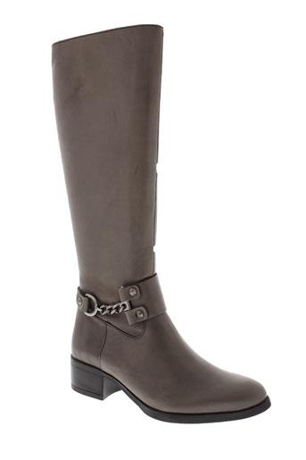 swedi bottes femme de couleur gris